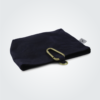 Kennedy Smith Design - Waxed Canvas Clip On Pouch Navy Blue