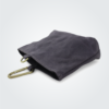 Kennedy Smith Design - Waxed Canvas Clip On Pouch Steel