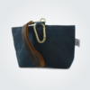 Kennedy Smith Design - Waxed Canvas Clip On Pouch Teal