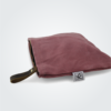 Kennedy Smith Design - Waxed Canvas Clutch Coral Red