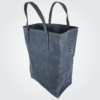 Kennedy Smith Design - Waxed Canvas Grocery Bag Charcoal