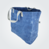 Kennedy Smith Design - Waxed Canvas Large Tote Ocean Blue
