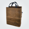 Kennedy Smith Design - Waxed Canvas Waxed Canvas Shopping Tote Coffee Shopping Tote Forest Green