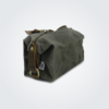 Kennedy Smith Design - Waxed Canvas Toiletry Bag Olive
