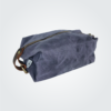 Kennedy Smith Design - Waxed Canvas Toiletry Bag Steel