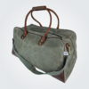 Kennedy Smith Design - Waxed Canvas Weekender Bag Olive
